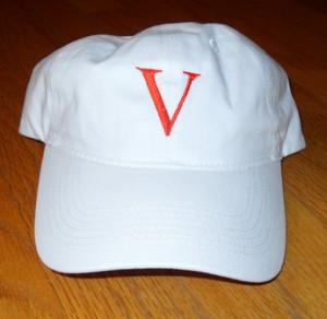 Victoria White Baseball Cap